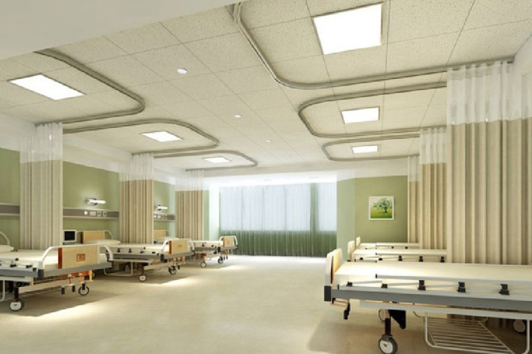Hospital Emergency Room Interior