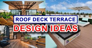 House Plans with Roof Deck Terrace