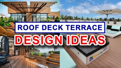 Photo of House Plans with Roof Deck Terrace