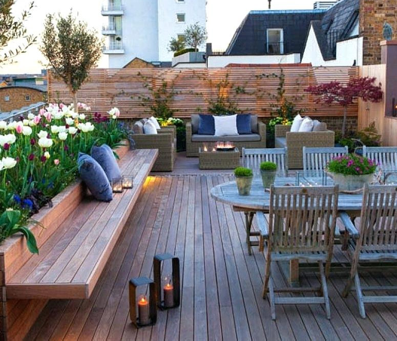 Rooftop Deck Design