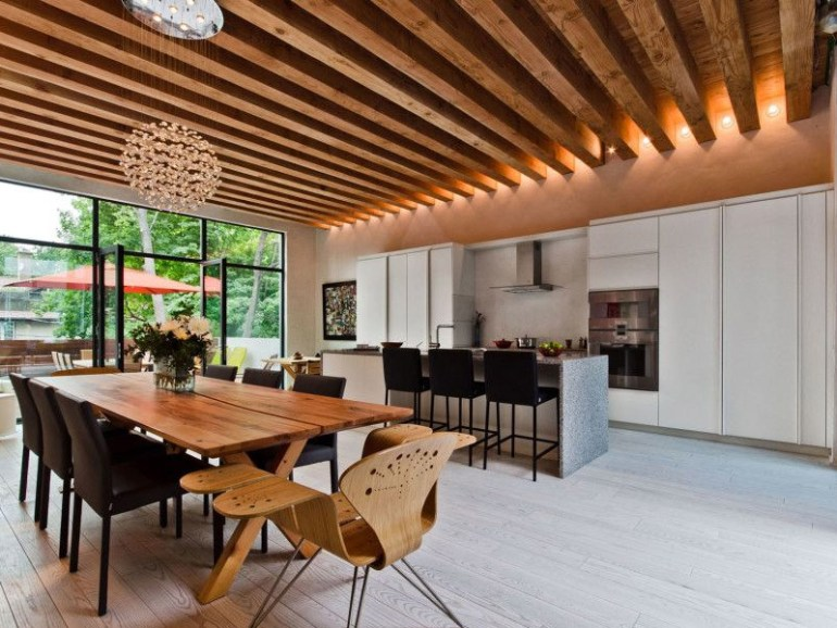 wooden ceiling design