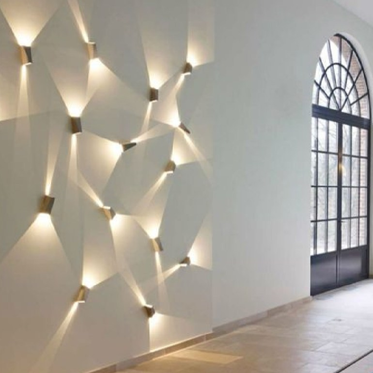Alluring Wall LED Light Design