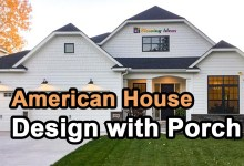 Photo of American House Design with Porch