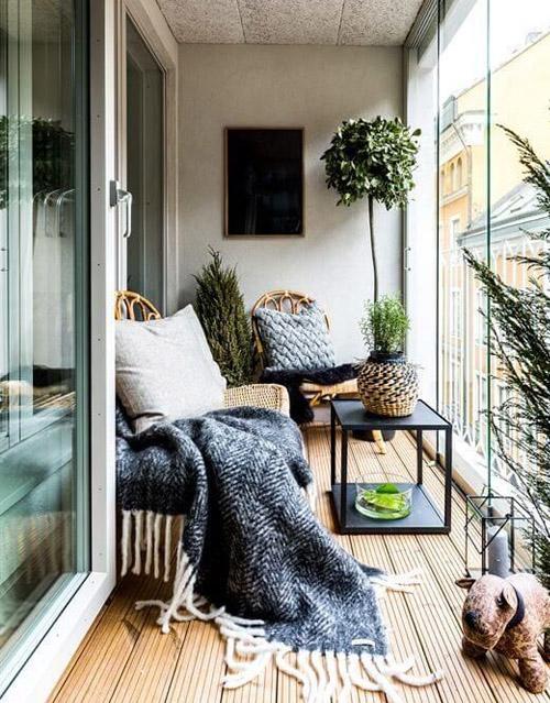 Best Balcony Lounge Ideas