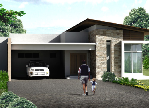 Car Porch For Bungalow