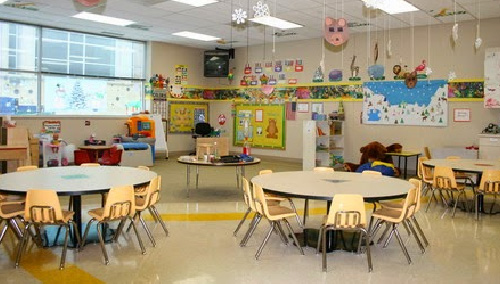 Classroom Design With Round Tables