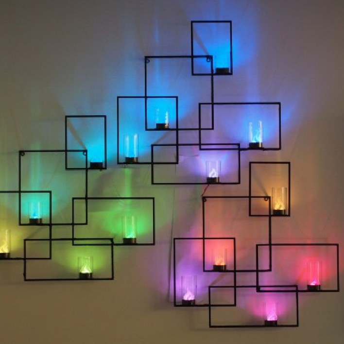 Colorful LED Wall Lights