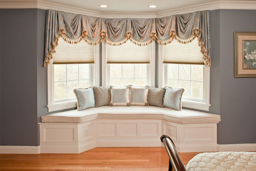Curtain Design For Bay Windows