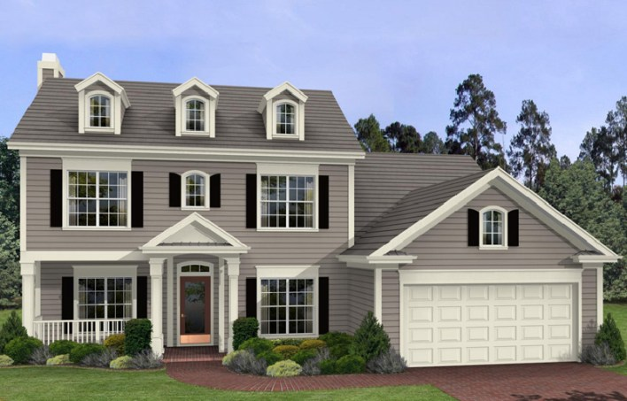 Luxury House Style with Car Porch