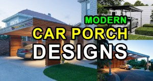Modern Car Porch Designs for Houses