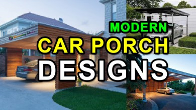 Photo of Modern Car Porch Designs for Houses