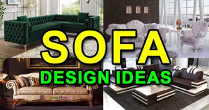 Modern Sofa Design Ideas for Living Room