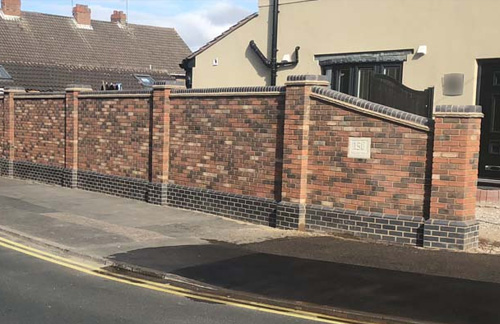 Simple Boundary Wall