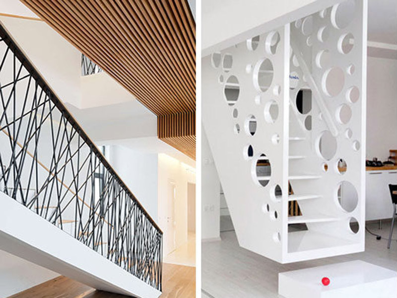Beautiful And Modern Stair Railings