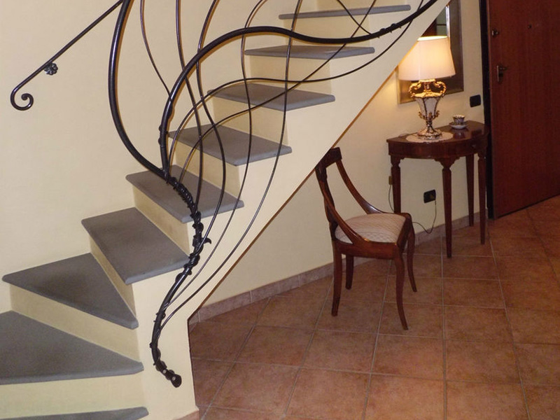 Decorative Stair Railing