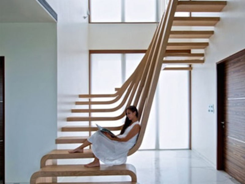 Unique Style Design Stair Case