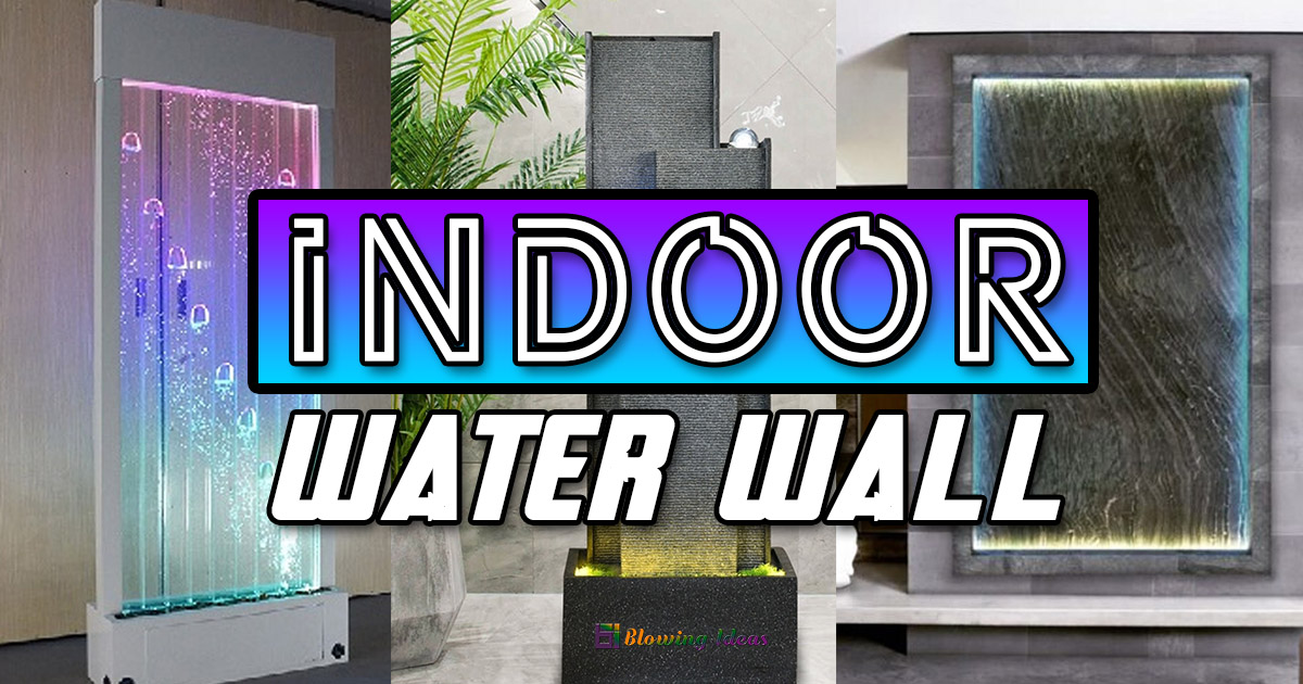 Amazing Indoor Water Wall Design Ideas