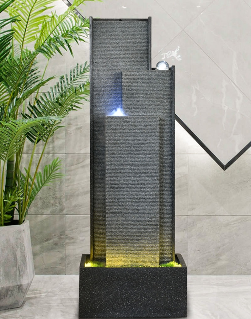 Modern Water Wall Fountain