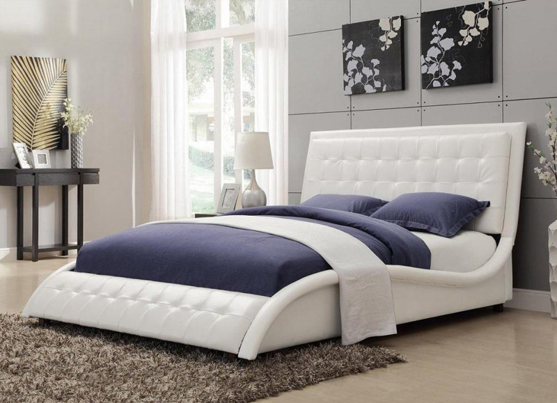 Stylish Floating Bed Furniture
