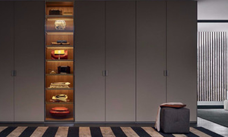 Lacquered Glass Wardrobes