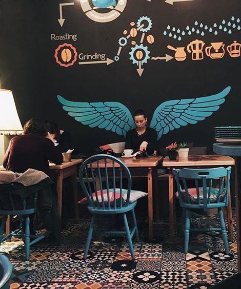Novel Style Cafe Idea