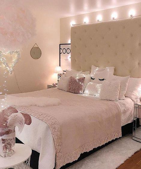Unique Lighting In Bedroom