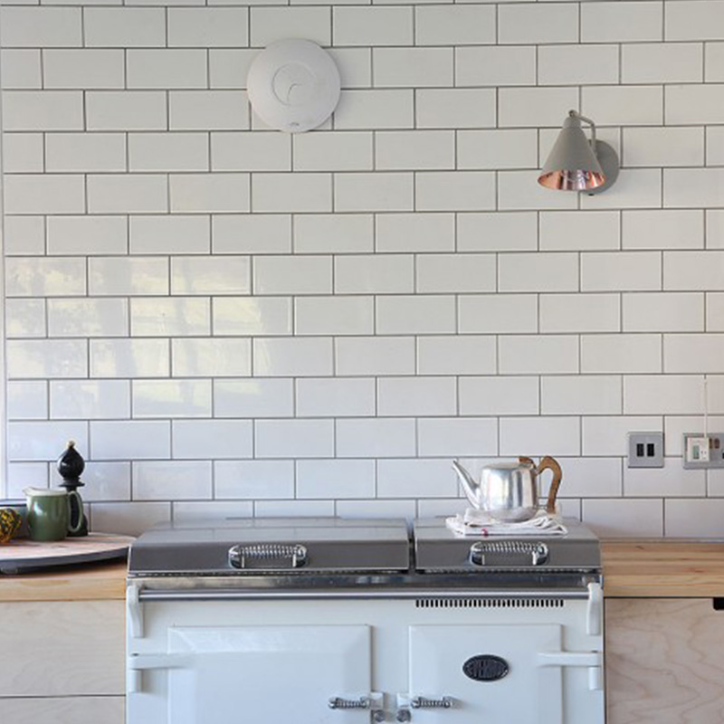 Kitchen White Tiles