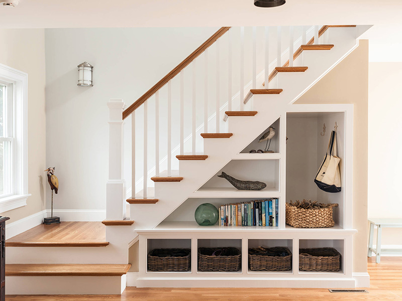 Beautiful Stair In Hall