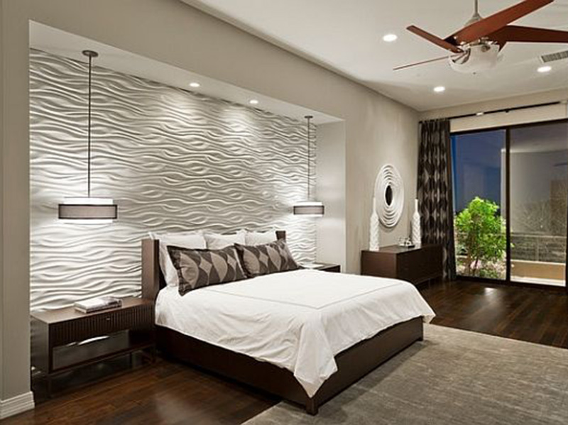 Bedroom Wall Tiles Texture Style