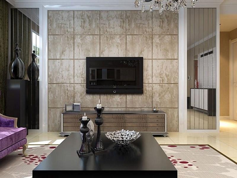Best Simple Wall Tiles Livingroom