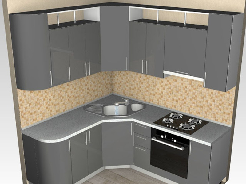 Best Small Kitchen Silver Color