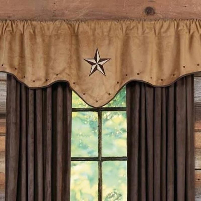Brown Color Curtain