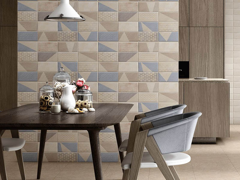Ceramic Wall Tiles Texture Wall Living Room