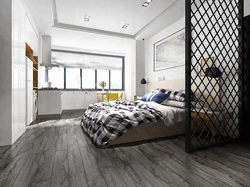 Chinese Tiles Floor Bedroom