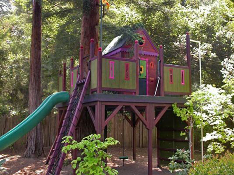 Cool Tree House For Kids