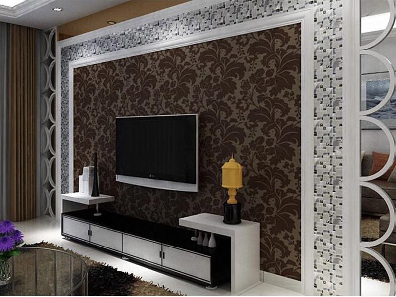 Crystal Glass Tiles Wall Livingroom