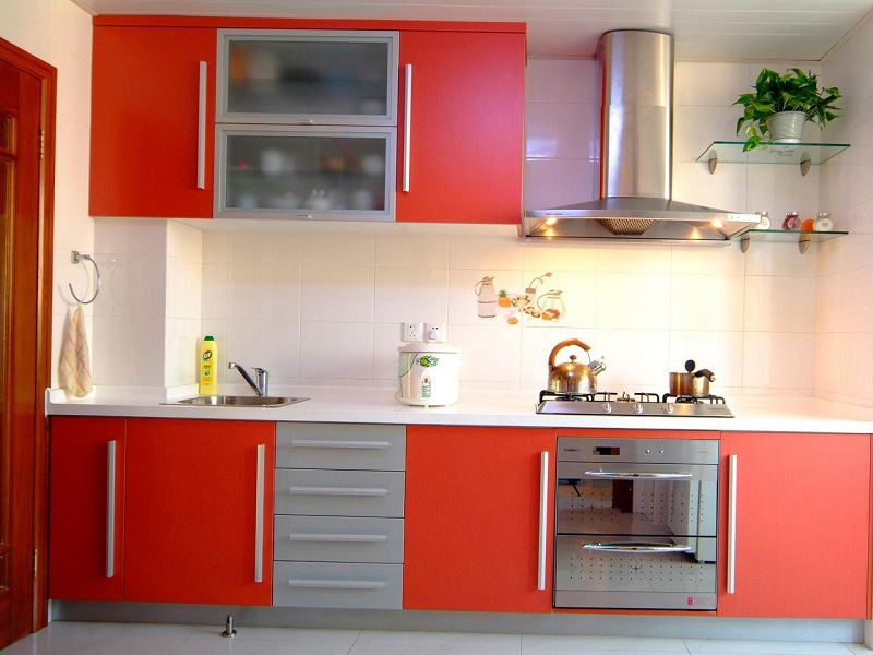 Latest Kitchen Cupboard Designs Radish Color