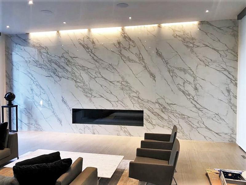 Marbal Wall Tiles Livingroom