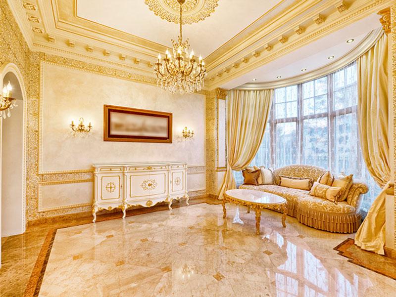Marble Flooring Design Livingroom Classic Designs