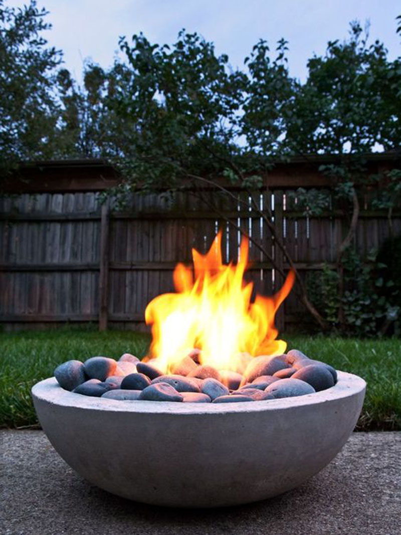 Marble Trendy Fire Pit
