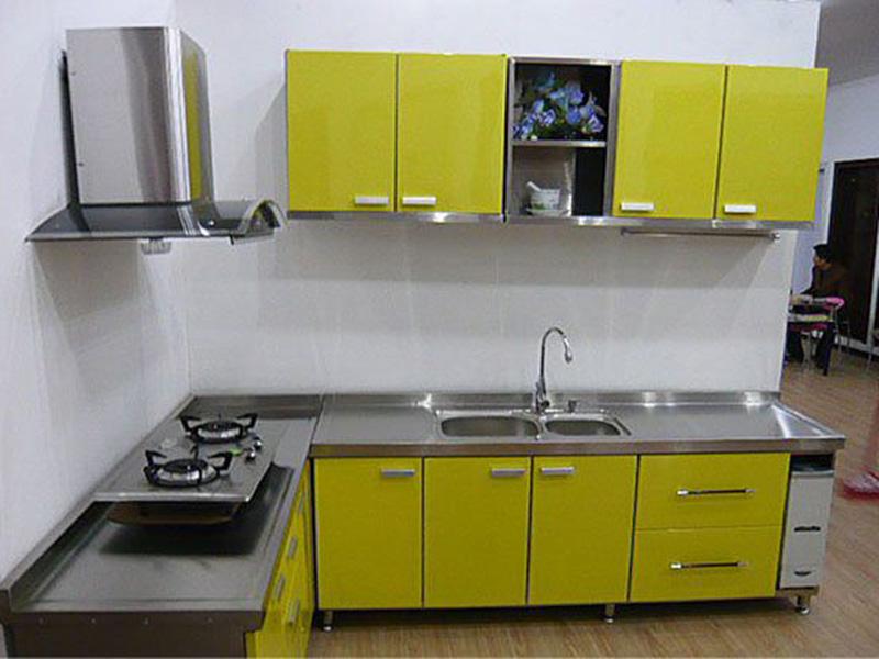 Metal Steel Kitchen Design