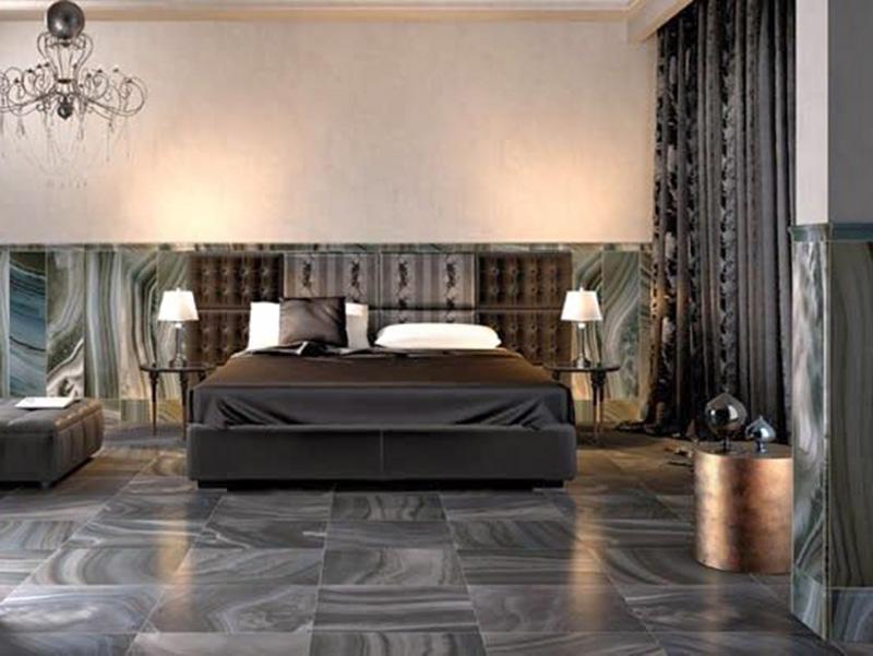 Modern Floor Tiles In Bedroom