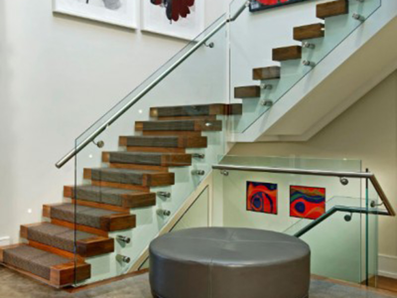 Modern Stair With Hall