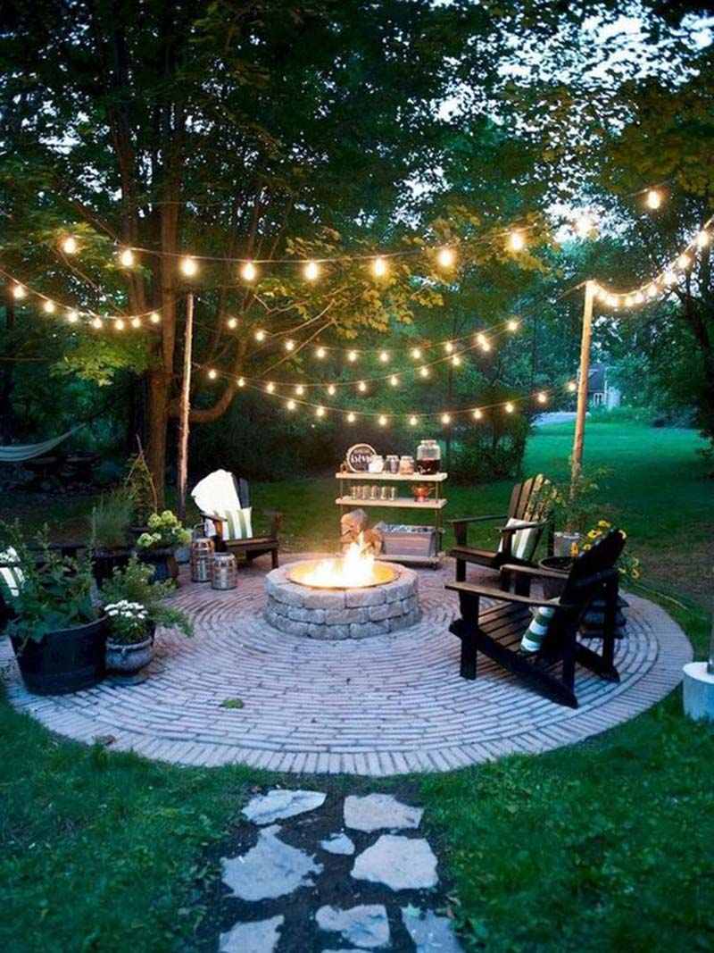 Outdoor Simple Fire Pit Ideas