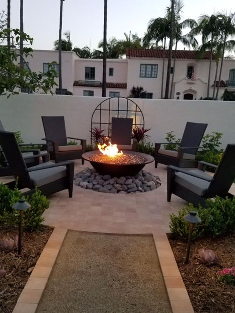 Outdoor Stylish Firepit