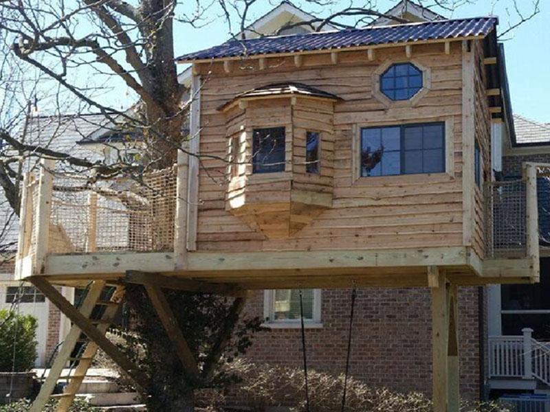 Simple Nice Treehouse