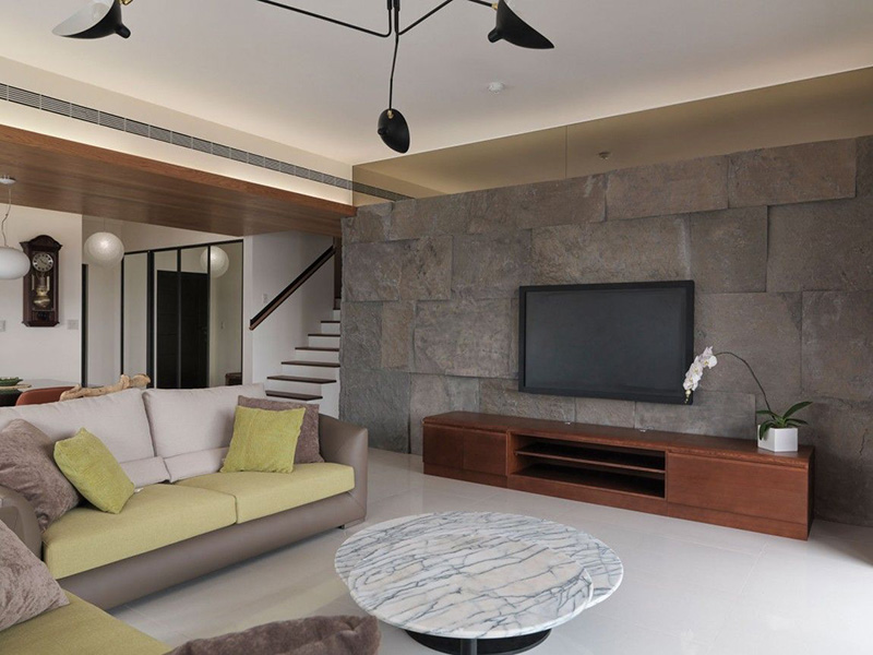 Ston Tiles Beautiful Wall Living Room