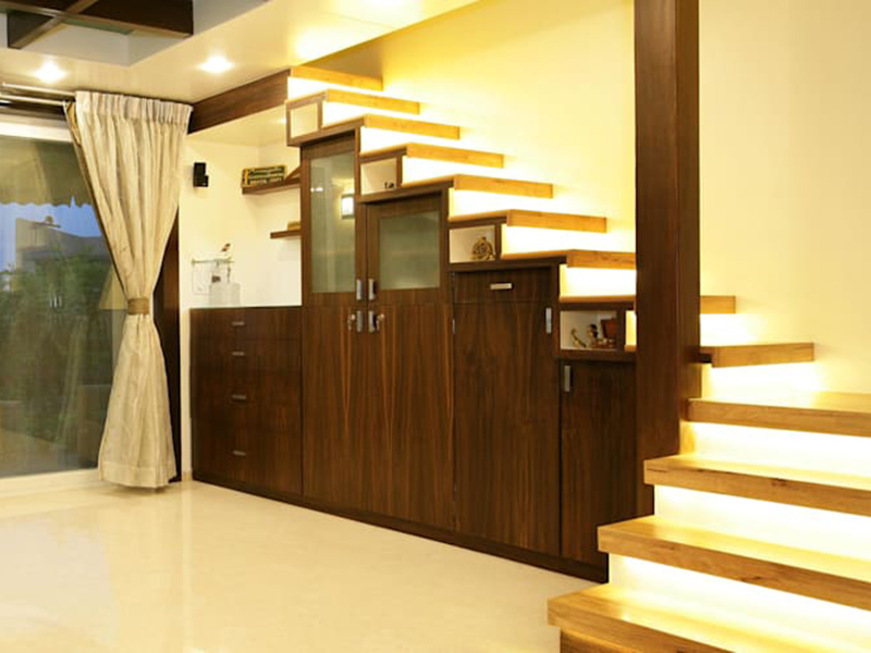 Unique Stair In Hall