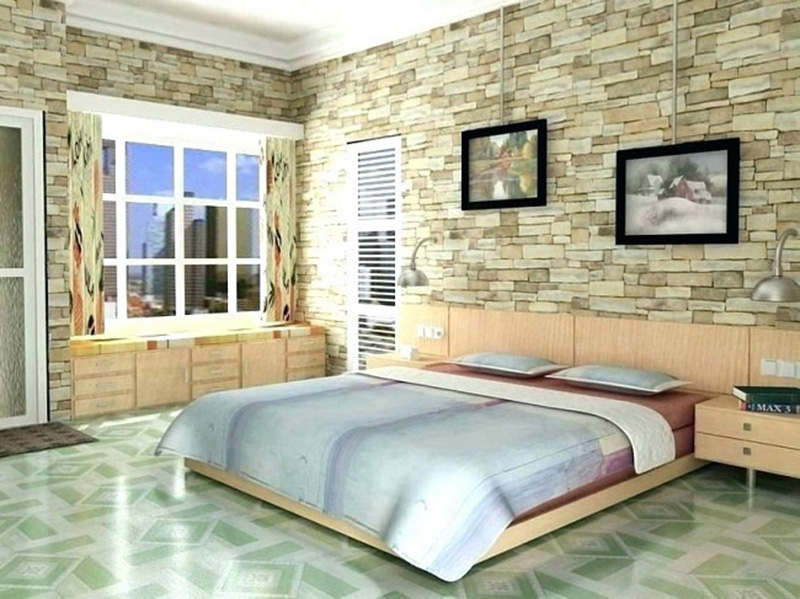 Wall Tiles Design For Bedroom