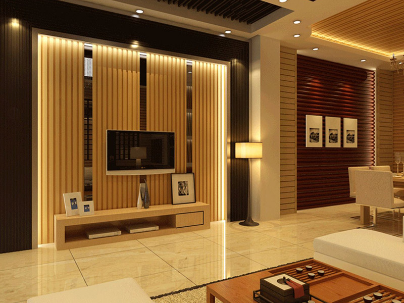 Decoration Soundproof Wpc Wall Peneling